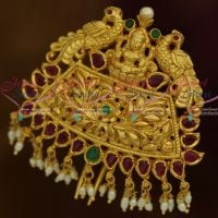 Temple One Gram Hair Jewellery Rakodi Yellow Gold Plated Traditional Bridal Accessory For Women Online