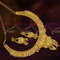 Forming Light Matte South Indian Jewellery Designs Delicate Casting Design 100 Mg  Shop Online
