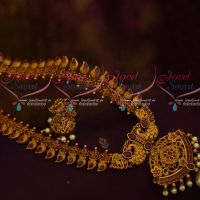 Mango Peacock Pendant Haram Latest Fashion South Indian Jewellery Shop Online Red Stones