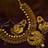 Antique Nagas Temple Jewellery Lord Ganapathy Design Traditional Gold Finish Collections Shop Online