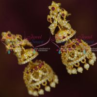 Double Step Jhumkas Latest  Womens Fashion Jewellery Designs Online