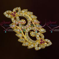 Imitation AD Stones Fashion Jewellery Saree Pins Collection Online