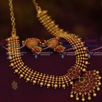 Beads Flexible Reddish Plated Screw Back Jhumka Offer Price Jewellery Online