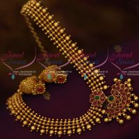 Pear Kemp Beads Flexible Reddish Plated Screw Back Jhumka Offer Price Jewellery Online
