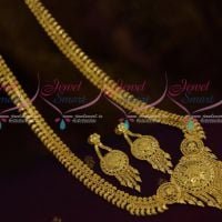 One Gram Gold Forming 100Mg Plated Haram Mango Latest Traditional South Indian Jewellery Online