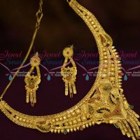Forming 100 MG Gold Plated Jewellery Meenakari Work Fancy Imitation Collections Online