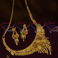 Short Necklace 100 Mg Gold Forming Casting Jewellery Imitation Collections Online