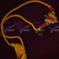 Tirupathi Balaji Namam Design Temple Rakhi Red Colour Rope Shop Online