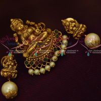 Antique Value For Money Jewellery Temple Pendant Earrings Small Size Shop Online