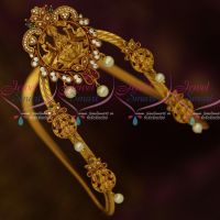 Temple Traditional Vanki Latest AD Matte Jewellery Matching Baju Band Shop Online