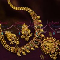 Temple Jewellery Ruby Emerald One Gram Gold Imitation Collections Traditional Designs Online