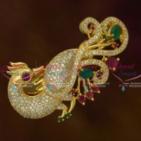 AD Fashion Jewellery Peacock Centre Hair Clip Women's Matching Accessory Buy Online