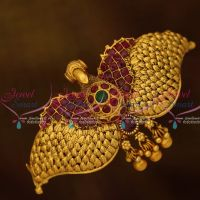 Matte Gold Finish Garuda Eagle Hair Clips Jewellery Accessory Matching Collections Online