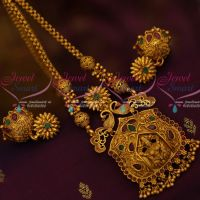 Temple Jewellery Chain Pendant Jhumka Latest Traditional Designs Shop Online