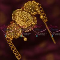 Temple Traditional South Indian Jewelry Chain Vanki Baju Band Latest Bridal Collections Shop Online
