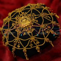 Bridal Temple Hair Jewellery Designs Latest Beads Model Matte Finish Shop Online