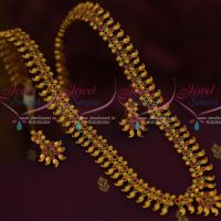Mango Mala Haram Latest Fashion Jewellery Trendy Gold Plated Collections