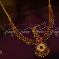 Kemp Round Red Stones Traditional Jewellery Damini Mathapatti Bridal Shop Online