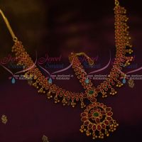 Kemp Round 3 Line Stones Grand Damini Mathapatti Traditional Jewellery Bridal Shop Online