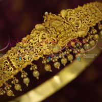32-37 Inches Oddiyanam One Gram Gold Traditional Jewellery Nakshi Temple Vaddanam Shop Online