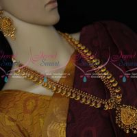 Original Kemp Temple Jewellery Haram Beautiful Finish Latest Traditional Designs Shop Online