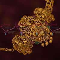 Temple Traditional South Indian Nakshi Jewelry Chain Vanki Baju Band Latest Bridal Collections Shop Online