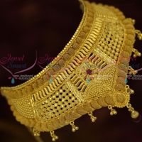 Gold Plated Jewellery Fixed Casting Design Bridal Low Price South Indian Collections Onlineg