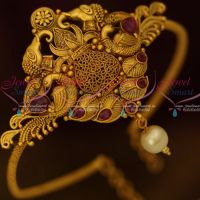 Low Price Temple Bridal Jewelry String Vanki Kalasam Design Red Stones Shop Online