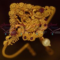 Low Price Temple Bridal Jewelry South Indian Vanki Red Stones Shop Online