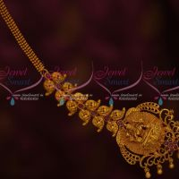 Temple Jewellery Ruby Stones Forehead Nethichutti Grand Bridal Design Collections Shop Online