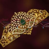 AD Gold Plated Fashion Jewellery Centre Hair Clip Women's Multi Colour Accessory Buy Online