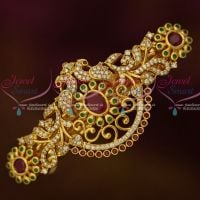 Peacock Gold Covering Sparkling Multi Color Hair Clip Imitation Matching Jewelry Buy Online