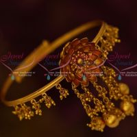 Antique Bridal Jewelry String Adjustable Vanki Bahubaali Style Jewelry Designs Shop Online