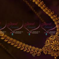 Antique Mango Peacock Matte Gold Plated Reddish Hip Chain Bridal Jewelry Shop Online