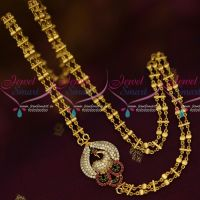 Mugappu Chain Retta Vada Covering 2 Strand Fancy Jewellery Gold Plated Online
