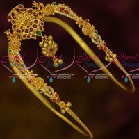 South Indian Traditional Bridal Vanki One Gram Gold Plated Jewelry Online
