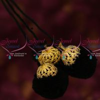 AD Semi Precious Stones Hair Kuppulu Latest Traditional Hair Accessory Online