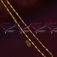 Tube Design Thin Delicate Flexible Gold Design Fancy Chain Latest Imitation Jewelry Online