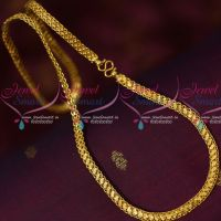 Flat 6 MM Wide Single Side Design Chain Daily Wear Artificial Jewelry Online