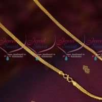 4.5 MM Flat South Indian Daily Wear Artificial Imitation Chain Shop Online