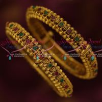 Antique Jewellery Screw Open Kada 2 Pcs Set Latest Design Bangles Shop Online