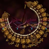 Real Gold Finish Nagas Handmade Antique South Indian Traditional Jewellery Latest Premium Collections