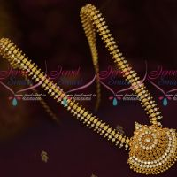 New Leaf Design AD Stones Haram South Indian Gold Covering Jewellery Shop Online