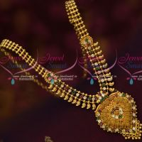 Multi Colour AD Stones Artificial Jewelry South Indian Micron Covering Low Price Daily Wear