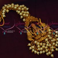 Pearl Danglers Temple Maang Tika Nethi Chutti Bridal Jewellery Designs Shop Online