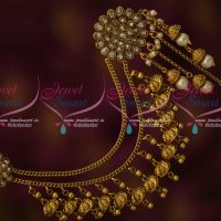 Bahubaali Movie Style Mattal EarChains Latest Bridal Antique Jewelry Shop Online