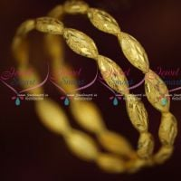 Light Weight Gold Plated Bangles Self Cutwork Design Low Price Jewellery