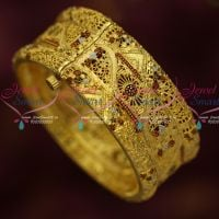 Screw Open Meenakari Bangles Delicate Light Weight Micron Plated Online Offer
