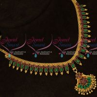 uby Emerald Marquise Stones Flexible South Indian Handmade Gold Finish Jewellery Set Shop Online
