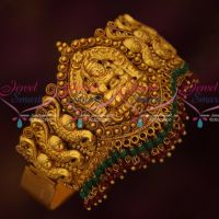 Temple Bridal Jewellery Matte Antique Vanki Belt Type Latest South Indian Collections Online